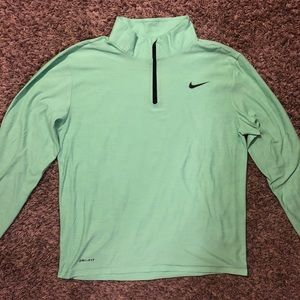 Bright green Nike pullover